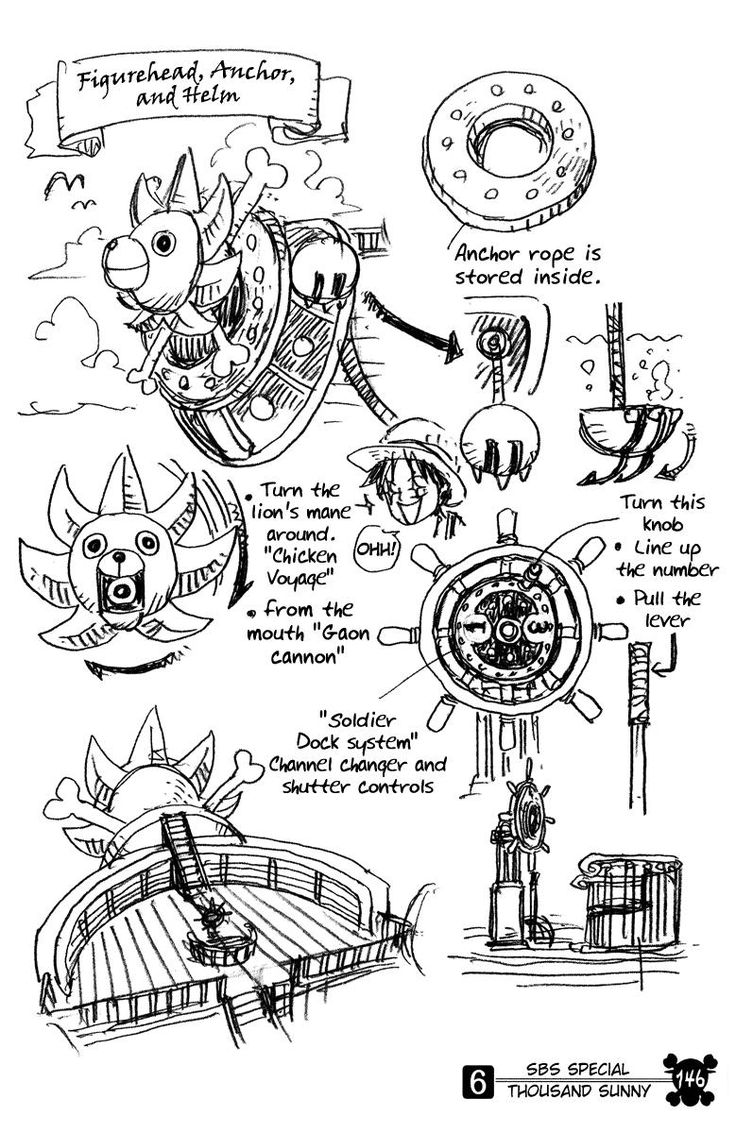 14 best images about Thousand Sunny blueprint? on