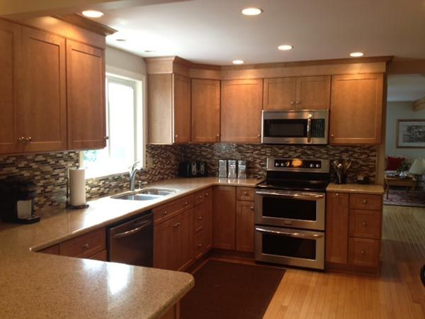 Schrock Pleasant Hill In Maple Sahara Moms Kitchen