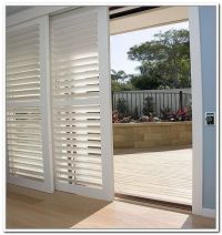 Bypass Plantation Shutters For Sliding Glass Doors | Joe ...