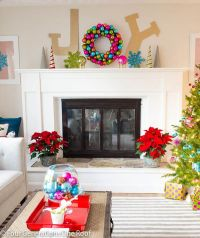 25+ best ideas about Bright christmas decorations on ...