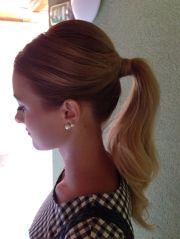 ideas elegant ponytail