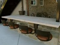 Hanging bar stools by Seating Innovations - Outdoor ...