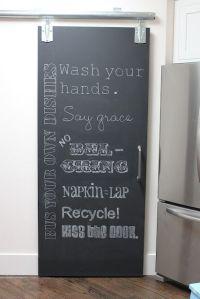 25+ best ideas about Chalkboard doors on Pinterest | Wash ...