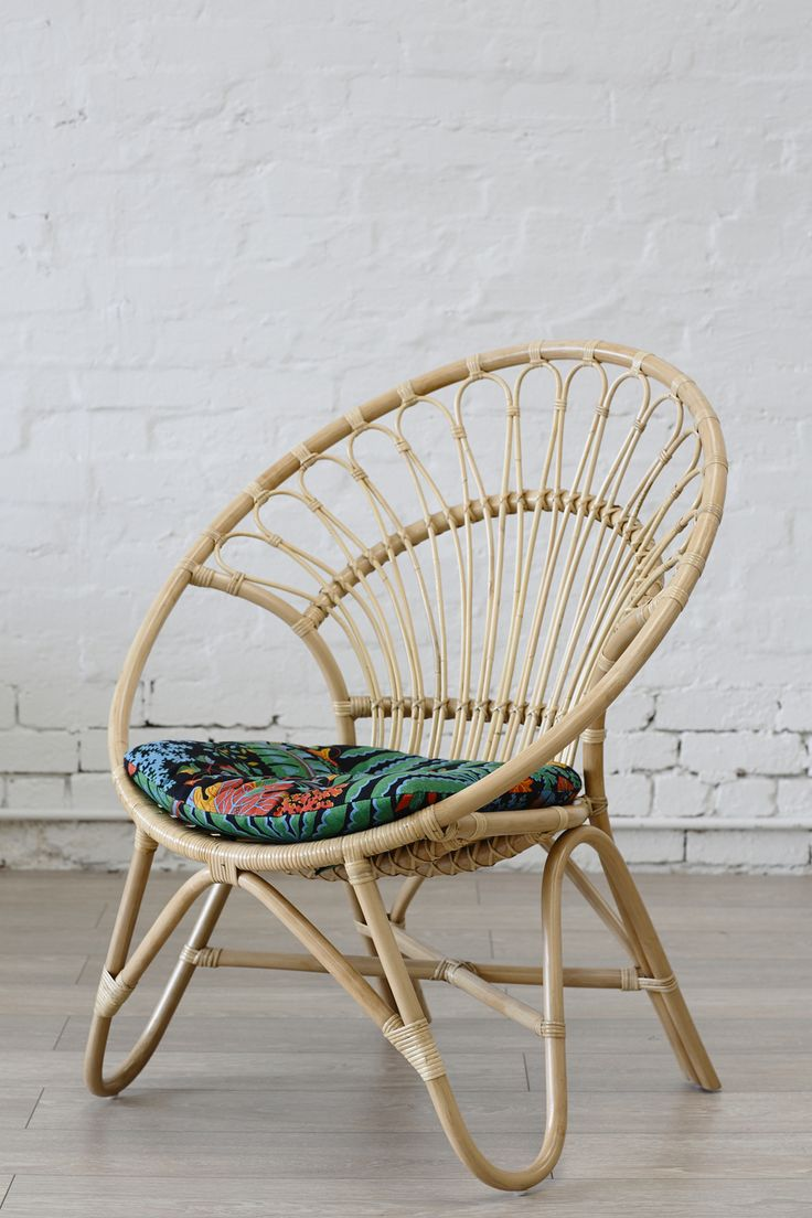 Rattan Round Chair Natural  The Family Love Tree