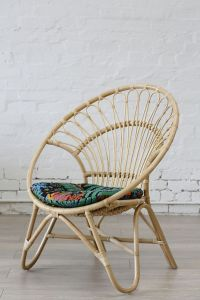 Rattan Round Chair Natural // The Family Love Tree ...