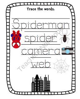 40 best images about Preschool: Spiderman on Pinterest