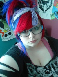 Splat hair color | Multi-Colored Hair | Pinterest | Splat ...