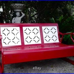 Swing Chair Metal That Turns Into A Bed Shark Tank 1000+ Ideas About Porch Glider On Pinterest   Vintage Porch, Patio Furniture And Metals