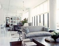 Traditional Style Meets Modern Loft - modern - living room ...