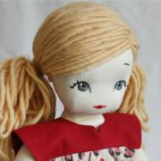 doll hair tutorial with yarn