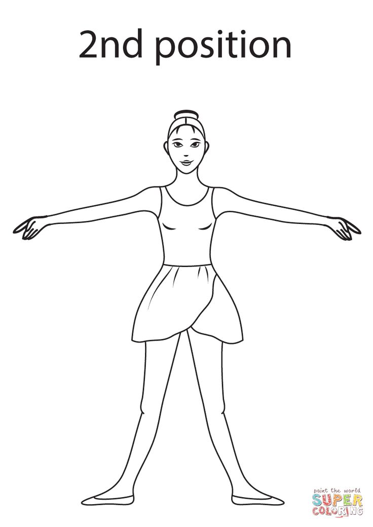 Best 33 Coloring Pages for Young Dancers images on