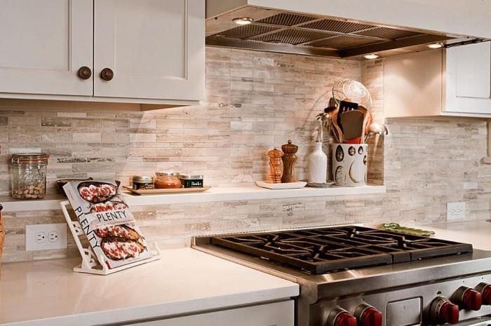 Stone 3d Wallpaper Backsplash Kitchen