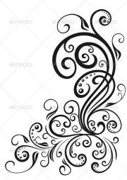 swirl tattoo ideas