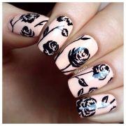 1000 ideas peach nail art