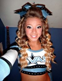17 Best ideas about Cheerleader Hairstyles on Pinterest ...