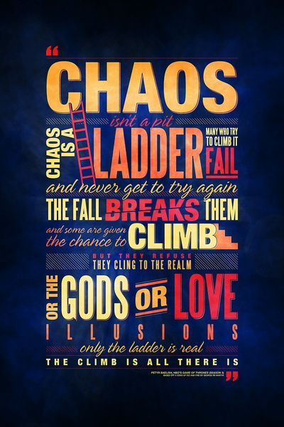 Fall Season Quotes Wallpapers Petyr Baelish Chaos Is A Ladder Speech Wallpapers