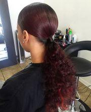 weave ponytail ideas