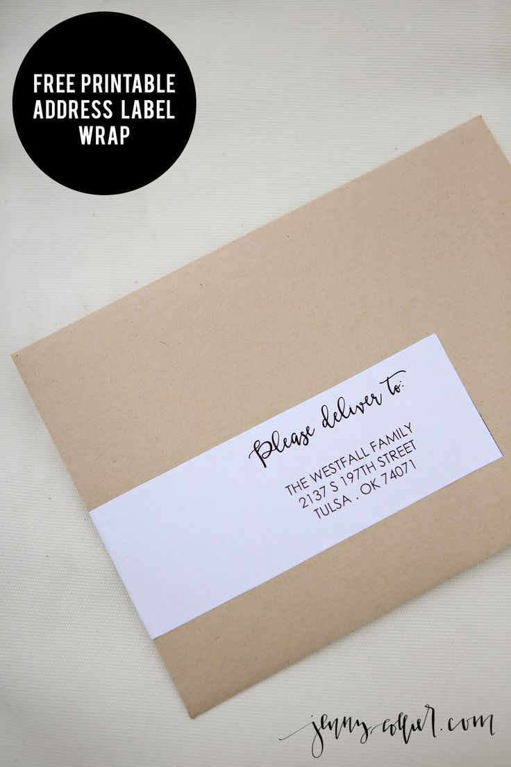 25 Best Ideas about Address Labels on Pinterest  Return