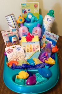 Homemade Baby Shower Gift Baskets