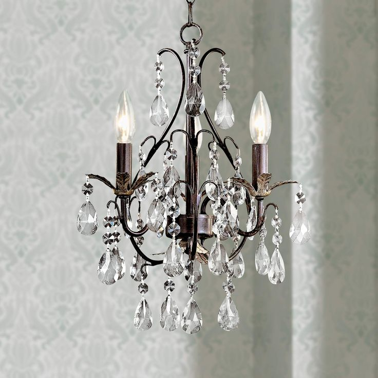 17 Best ideas about Mini Chandelier on Pinterest  Small chandeliers Chandeliers and Closet