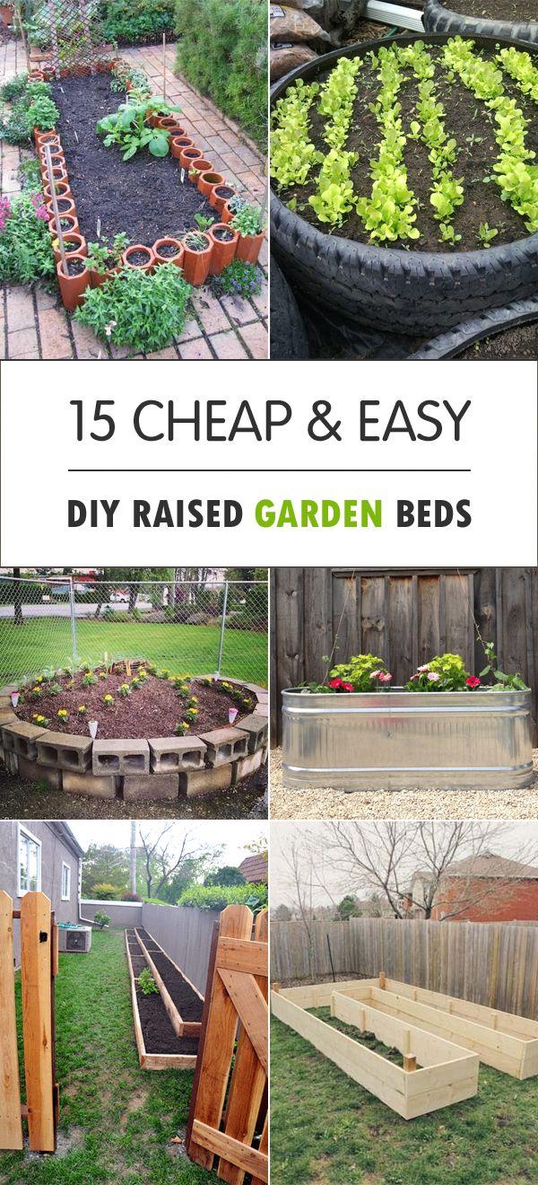 Cheap Easy Diy Raised Garden Beds