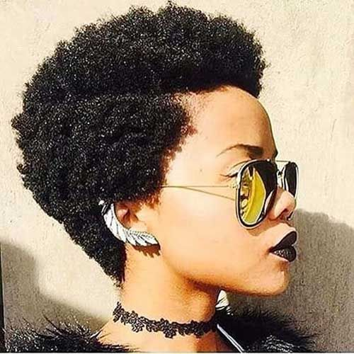25 Best Ideas About Short Afro Hairstyles On Pinterest Short