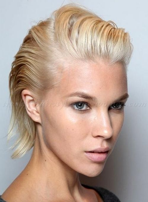 25 Best Ideas About Slicked Back Hairstyles On Pinterest