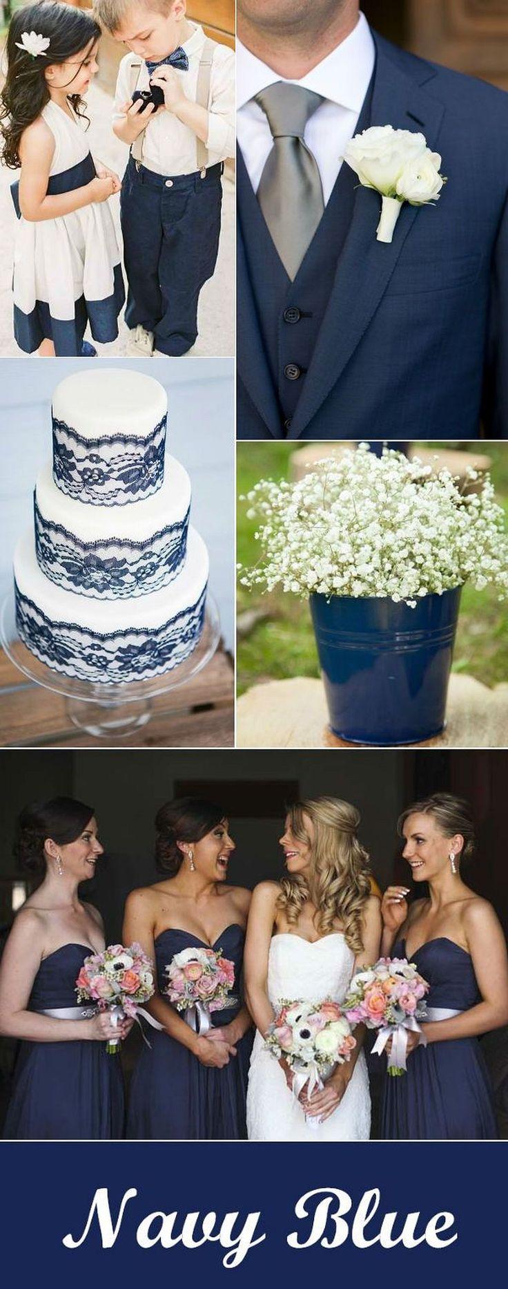 25 best ideas about Navy blue weddings on Pinterest  Navy wedding themes Blue wedding themes