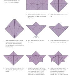 Origami Flower Instruction Diagram Honeywell Thermostat Wiring 4 Wire Orchid Folding Instructions | Retreat Ideas Pinterest ...