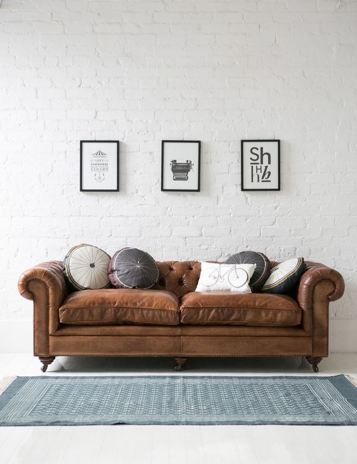 west elm hamilton leather sofa tan vanity white modern set contemporary 17 best ideas about on pinterest | couch ...