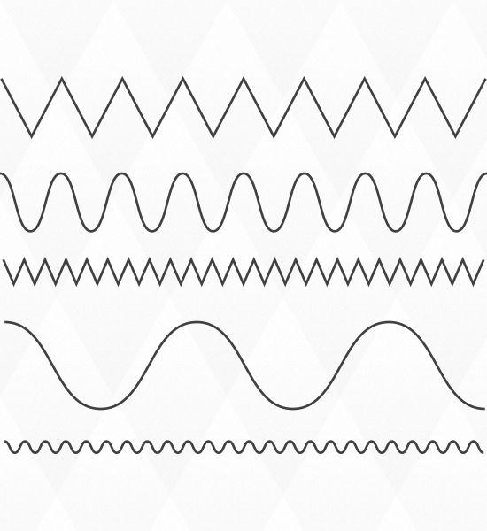 Illustrator tutorial: waveyandcurvyzigzagline Quick Tip