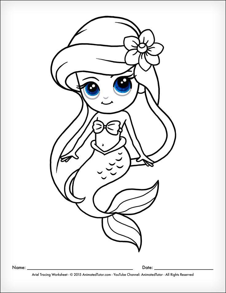 25+ best ideas about Little mermaid drawings on Pinterest