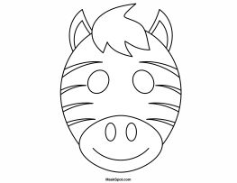 Best 25+ Zebra mask ideas on Pinterest