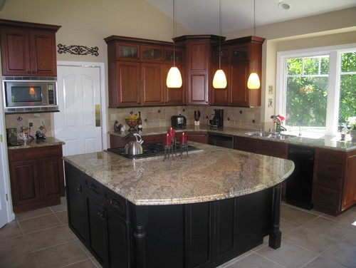 Yellow Moon Granite Kitchens Pinterest Photos Traditional And San Francisco