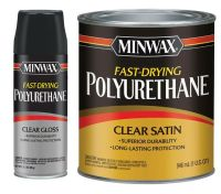 Minwax Fast-Drying Polyurethane For cornhole boards ...