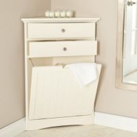 corner hamper | Laney's bathroom | Pinterest | Hampers