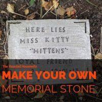 1000+ ideas about Pet Grave Markers on Pinterest