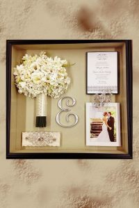 49 best images about Wedding Shadow Boxes on Pinterest