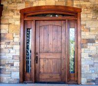 17 Best ideas about Wood Entry Doors on Pinterest