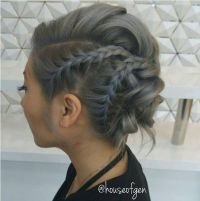 Best 25+ Shoulder Length Hair Updos ideas on Pinterest
