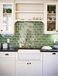 25+ best ideas about Green subway tile on Pinterest ...