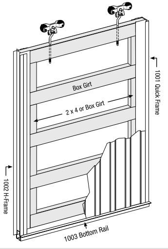 Diagram Of Garage Door Components Pole Barn Parts Google Search Pole Barn Pinterest