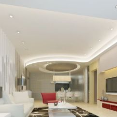 Fall Ceiling Designs For Living Room In India Modern Country Pictures Note The Curved Edges And Drywall On Left | Ceilings ...
