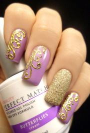 breath- butterfly nail