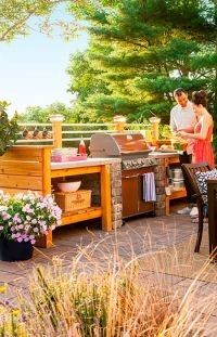 1000+ images about Diy Outdoor Kitchen Ideas on Pinterest