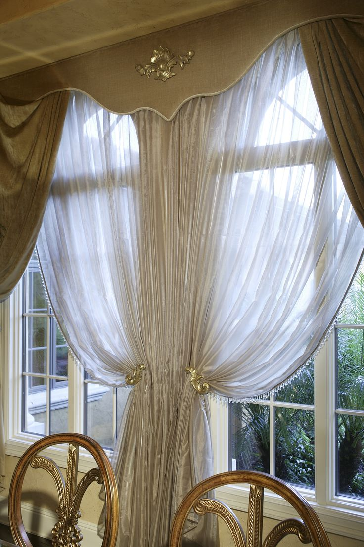 Beautiful Window Treatments The Gold Drapes Along With The Sheer White Curtains Go So Well With