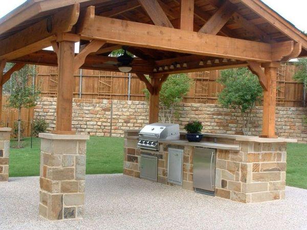 diy outdoor patio kitchen ideas 1000+ ideas about Diy Outdoor Kitchen on Pinterest   Diy