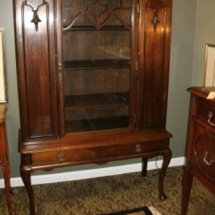 Vintage Kitchen Hutch Best Floor For Enchanting China Cabinet Queen Anne Legs | Home Decor