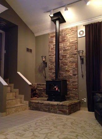 Best 20+ Freestanding fireplace ideas on Pinterest