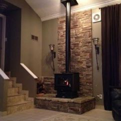 Living Room Decorating Ideas With Stone Fireplace Dark Gray Chairs Best 20+ Freestanding On Pinterest ...